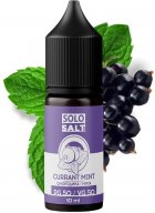 Рідина для POD-систем SoloSalt Currant Mint 50 мг 10 мл (Смородина + м'ята) (4820256390023) - зображення 1