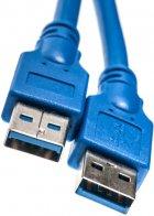 Кабель PowerPlant USB 3.0 AM – AM 1.5 м (KD00AS1228) - изображение 1