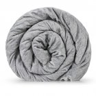 Утяжеленное (тяжелое) сенсорное одеяло GRAVITY 150x220см 8кг Серое - изображение 1