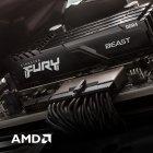 Оперативна пам'ять Kingston Fury DDR4-3733 16384 MB PC4-29864 Beast Black (KF437C19BB1/16) - зображення 10