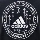 Футболка Adidas M Crcl Xplr T GL2840 S Black (4064044274809) - изображение 4