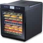Сушилка для овощей и фруктов WetAir WFD-K700BSS с металлическими лотками - изображение 2