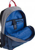 Рюкзак подростковый YES T-35 Norman для мальчиков 49x33x14.5 (553201) (5060487831042) - изображение 5
