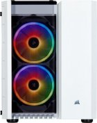 Корпус Corsair Carbide 280X RGB Tempered Glass White (CC-9011137-WW) без БЖ - зображення 2