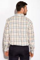 Рубашка Time of Style 511F047 XXXL Серо-бежевый - изображение 4