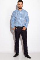 Рубашка Time of Style 511F037 XS Бело-голубой - изображение 2