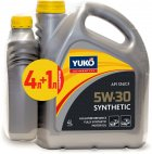 Моторна олива Yuko Synthetic 5W-30 4 л + 1 л (4820070244779_stock) - зображення 1