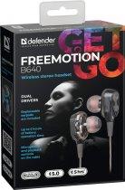 Наушники Defender FreeMotion B640 2 динамика Bluetooth Black (63641) - изображение 3