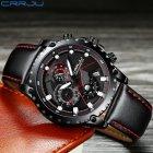 Мужские наручные часы CRRJU 2158 Black-Red - изображение 2