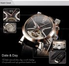 Механические часы с автоподзаводом Forsining (black-bronze) - изображение 7