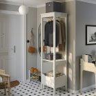 Коробка с крышкой IKEA TJOG 32x31x30 см темно-серый 204.776.71 - зображення 6