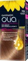 Краска для волос Garnier Olia Базовая линейка оттенок 7G Нюдовый русый 112 мл (3600542243810) - изображение 1