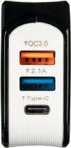 Сетевое зарядное устройство Gelius Pro Voltag QC GP-HC07 2USB 2A Black (2099900763595) - изображение 6