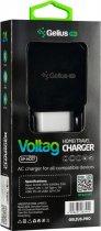 Сетевое зарядное устройство Gelius Pro Voltag QC GP-HC07 2USB 2A Black (2099900763595) - изображение 8