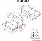 Витяжка Perfelli TL 6601 I LED - зображення 14