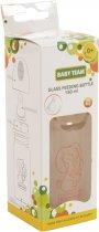 Бутылочка для кормления стеклянная Baby Team 0+ 150 мл (4824428012102) - изображение 2