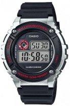Наручний чоловічий годинник Casio W-216H-1CVDF - зображення 1