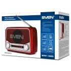 Радіоприймач SVEN - SRP-525-RED - зображення 9