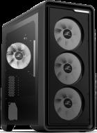 Корпус Zalman M3 Plus Black Tempered Glass - зображення 1