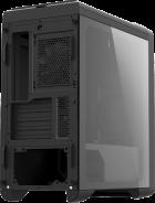 Корпус Zalman M3 Plus Black Tempered Glass - зображення 3