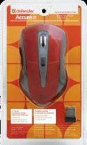 Мышь Defender Accura MM-965 Wireless Red-Grey (52966) - изображение 5