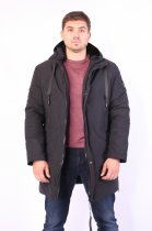 Куртка ZIBSTUDIO Rem 2XL Чёрная (7640843) - изображение 7