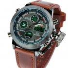 Армейские наручные часы AMST Brown, повышенной противоударности NEW (DM1788) - изображение 1