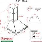 Вытяжка Perfelli K 6442 W LED - изображение 14