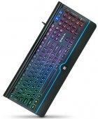 Клавіатура дротова Real-El 8000 Comfort Backlit USB (EL123100033) - зображення 5