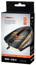 Миша Real-El RM-503 USB Black (EL123200024) - зображення 5