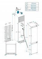 Встраиваемый холодильник VESTFROST IRF2761Е - изображение 20