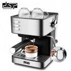 Кофемашина DSP Espresso Coffee Maker KA3028 напівавтомат з капучинатором кавоварка 1232 - зображення 1