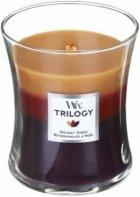 Ароматична свіча WoodWick Medium Trilogy Holiday Cheer 275 г - изображение 1