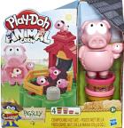 Игровой набор Hasbro Play-Doh Озорные поросята (E6723) - изображение 1