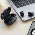 Бездротові Bluetooth стерео навушники HOCO TWS Breezy BT5.0 Hi-Res ES35 black - зображення 2