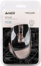 Миша A4Tech FG35 Wireless Bronze (4711421947855) - зображення 6