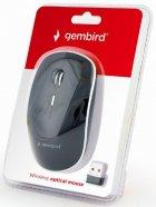 Мышь Gembird MUSW-4B-01 Wireless Black - изображение 3