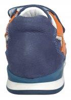 Кроссовки Perlina 4GOLORANGE р. 21 13,5 см Голубой с оранжевым - изображение 3