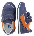 Кроссовки Perlina 4GOLORANGE р. 21 13,5 см Голубой с оранжевым - изображение 4