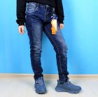 Джинси для хлопчика S&D (1083) Розмір 12, 152 см Синій - зображення 1
