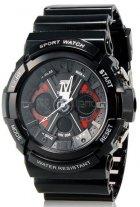 Мужские часы Skmei 0966 Black BOX (0966BOXBK) - изображение 1