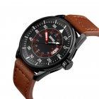 Чоловічий годинник Skmei 9113 Black Brown Band BOX (9113BOXBLBR) - зображення 2