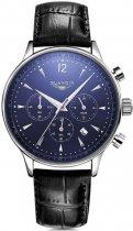 Чоловічий годинник Guanqin Silver-Blue-Black GQ001 CL (GQ001SBlB) - зображення 1
