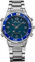 Мужские часы Weide Blue WH843-3C SS (WH843-3C) - изображение 1