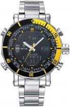 Мужские часы Weide Yellow WH5203-4C SS (WH5203-4C) - изображение 1