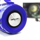 Колонка ZEALOT S29 Blue Dark blue Camouflage портативна 10 Вт 2000 мАч 10 метрів USB TF карта fm-радіо, ліхтарик - зображення 7