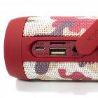 Колонка ZEALOT S22 Red Camouflage 3Вт портативна блютуз 4000 маг Радіо Гучний зв'язок - зображення 5