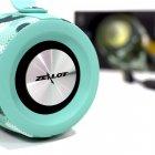 Колонка блютуз ZEALOT S29 Blue Camouflage портативна 10 Вт 2000 мАч 10 метрів USB fm-радіо, ліхтарик - зображення 6