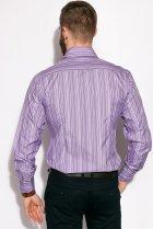 Рубашка классическая Time of Style 11P1250 41-42 Светло-сиреневый - изображение 5