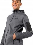 Спортивная кофта Jack Wolfskin Milford Hooded Jacket M 1708381-6000 XXL (4060477501628) - изображение 2